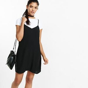 Dresses & Skirts - Black 90s Hipster Spaghetti Strap Dress